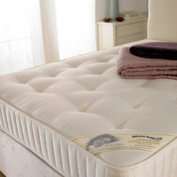 Deluxe Super Damask Open Spring Orthopaedic Mattress